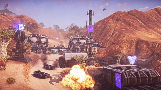 PlanetSide 2's new launch trailer is packed with firepower