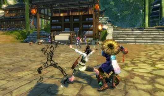 Swordsman Online combat video demonstrates clan variety