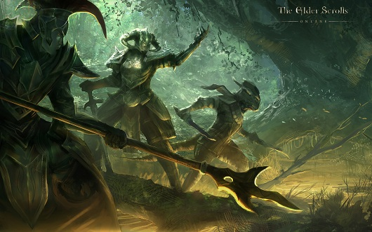 The Elder Scrolls Online gets shiny concept art, biweekly Ask Us Anything (Related to the Topic We've Prescribed)