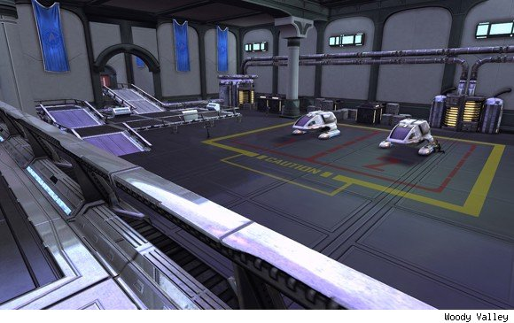 STO Fleet Embassy Shuttle Bay