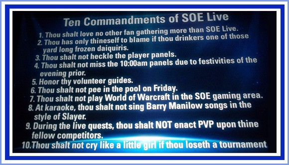 SOE Live picture