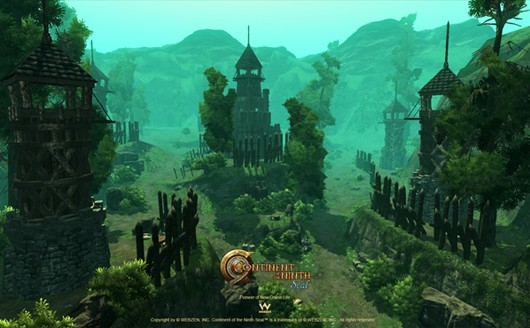 Continent of the Ninth Seal - landscape screenshot