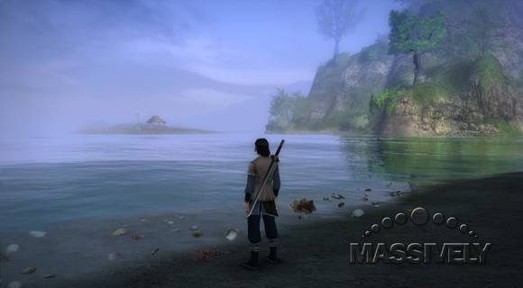 Age of Wushu - on the beach