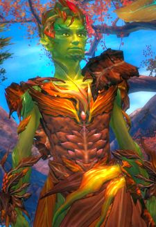 I had really expected planet people to be humans with green skin.  I was happy to be wrong.