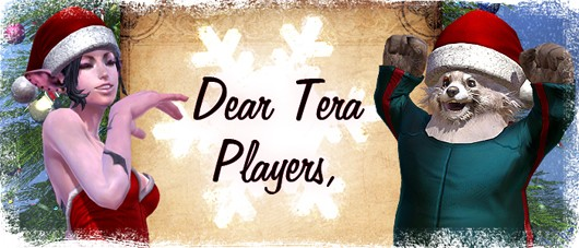 TERA's Christmas header