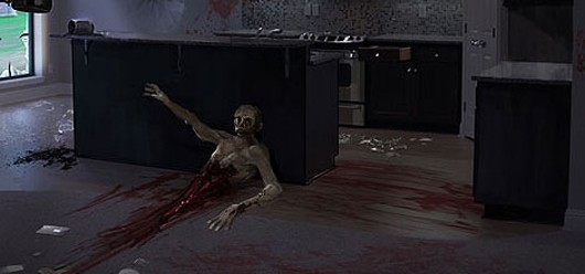 State of Decay - half a zombie