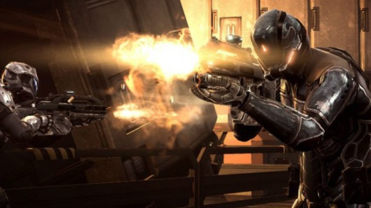 DUST 514 - Mercs firing guns