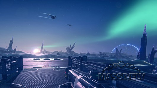 PlanetSide 2 - Esamir sundown