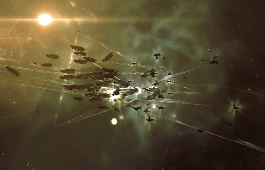 EVE Online breaks the 450k subscribers