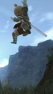 I'll stop focusing on the jumping thing just as soon as Square-Enix does.