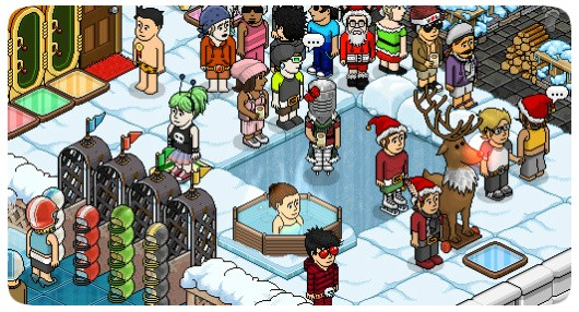 Habbo Hotel screenshot