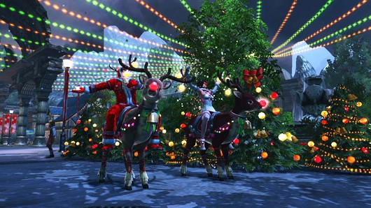 Celebrate Christmas with RaiderZ event trailer