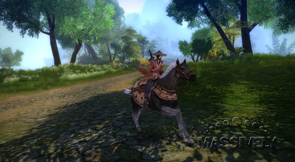 Age of Wushu - horsey