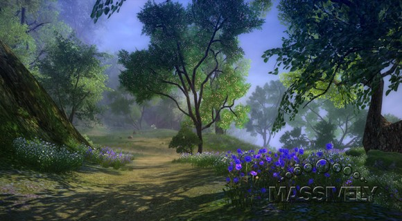 Age of Wushu - rare blue flower