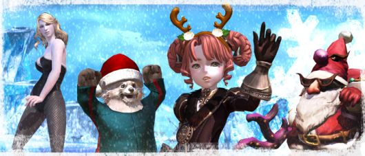TERA holiday event has you killing Santa
