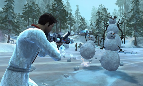 STO Winter Event Snowmen
