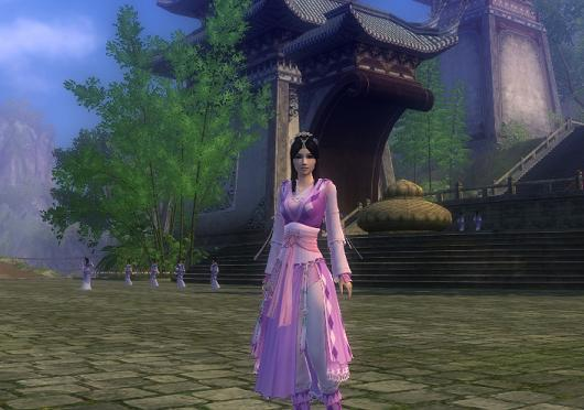 First Impressions from the Age of Wushu beta