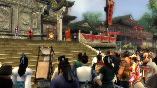 Age of Wushu kicks off second closed beta