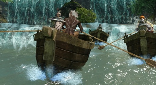 ArcheAge rowboats