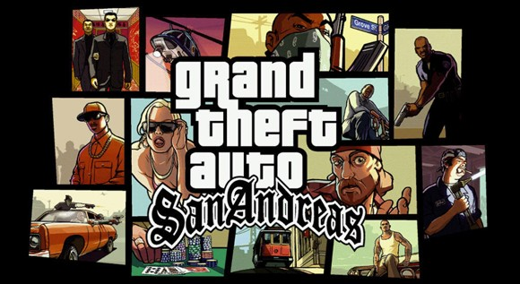 Grand Theft Auto: San Andreas box cover