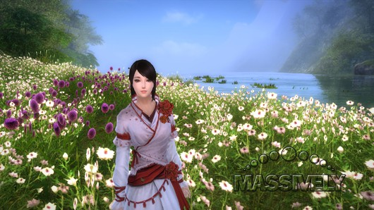 Age of Wushu flower girl