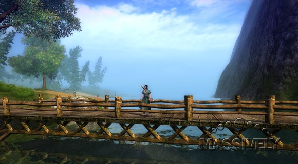 Age of Wushu - Bridge over water