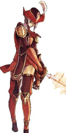 FFXIV desperately needs a class with a Red Mage sense of style.