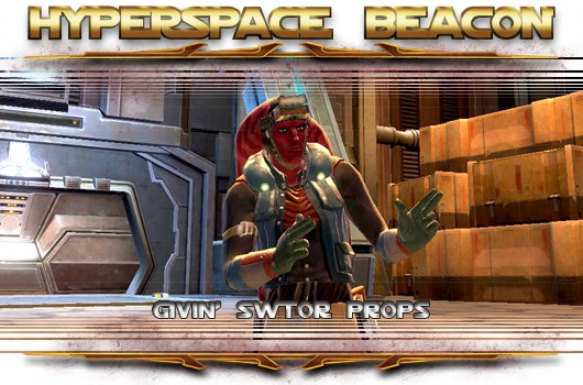 Hyperspace Beacon Givin' SWTOR props