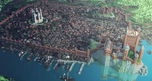 King's Landing in Minecraft