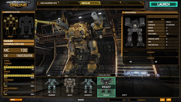 MechWarrior Customization