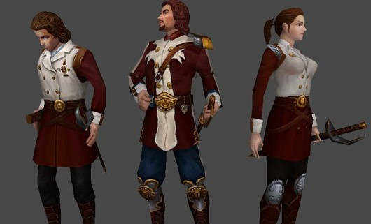 City of Steam - Nexan guard uniforms