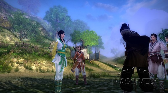 Age of Wushu - School NPC