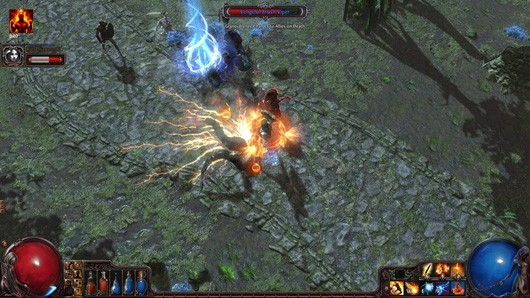 Path of Exile gameplay screenshot