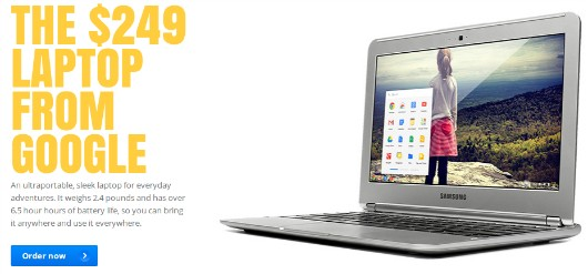 Chromebook page screenshot