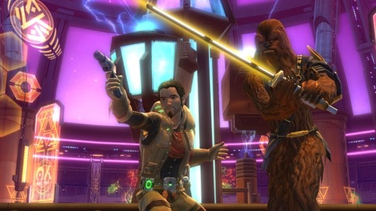 Star Wars The Old Republic confirms samegender romance, promises more endgame content