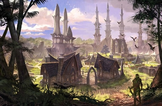 The Elder Scrolls Online lead deals with differences between the MMO and singleplayer RPGs