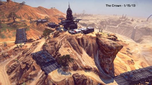 Planetside 2's The Crown showcased in recent interview