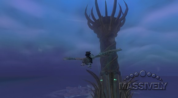 EverQuest II - Velious tower flyby