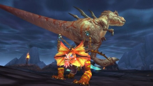 Get a load of World of Warcraft's Isle of the Thunder King