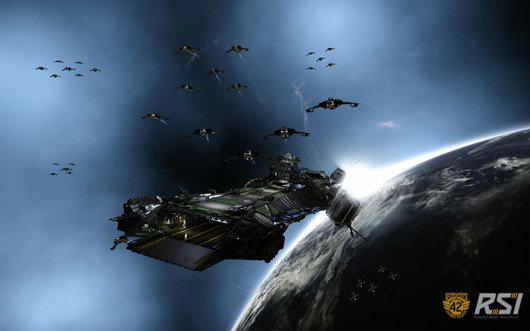 Squadron 42 carrier and escort