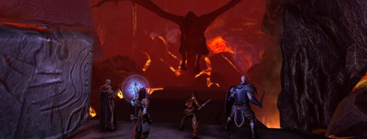 Cryptic reveals Neverwinter's Mount Hotenow zone, new video