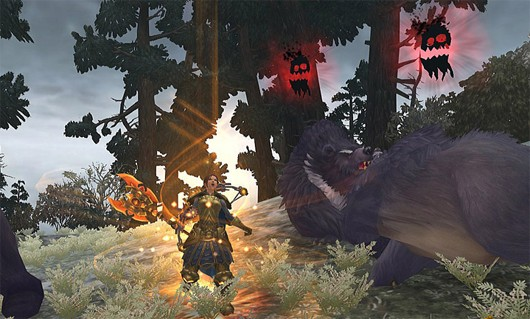 Allods Online bear fight