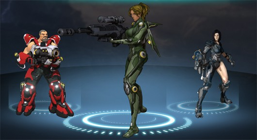 Firefall battleframes