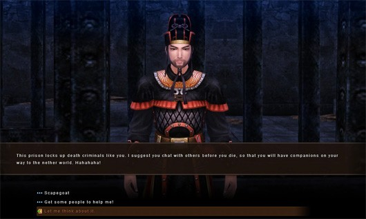 Age of Wushu elaborates on crime and punishment