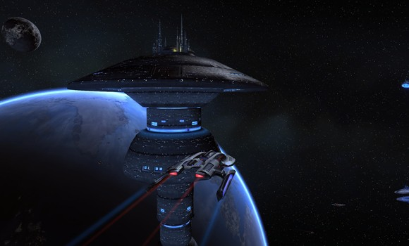 STO Earth Space dock