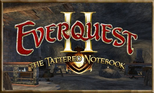 The Tattered Notebook  Experimentation in EverQuest II
