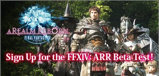 Final Fantasy XIV A Realm Reborn announces beta signups