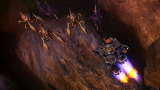 Firefall's latest video explores the joy of flying combat