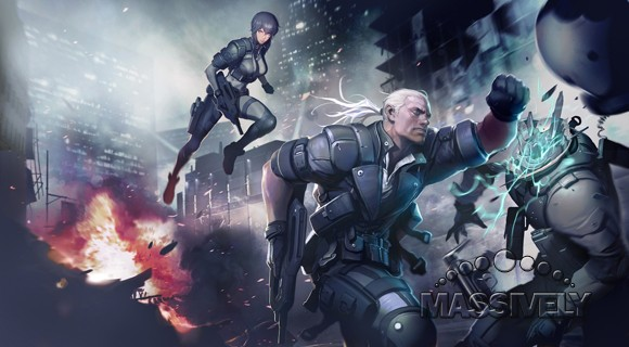 Ghost in the Shell Online concept art