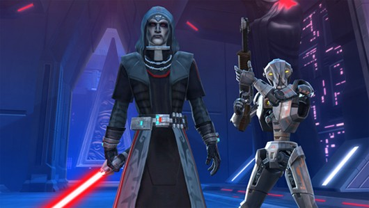 SWTOR - HK51 and some Sith guy